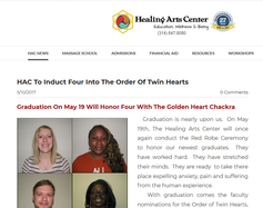 HAC Honors Students Inducted into Order of Twin Hearts