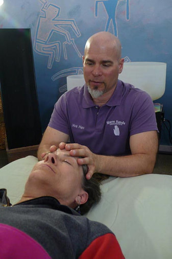 Nicholas Night, Craniosacral Therapy: Level 2 instructor